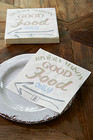 Good Food Only paper napkin