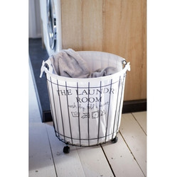 The Laundry Room Wash Basket L