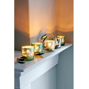 Villa Perosa Votive set of 5