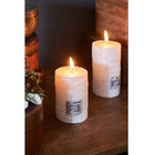 RM Linen Candle off white 7x10
