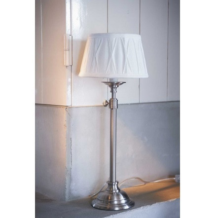 Apartment Lamp Silver