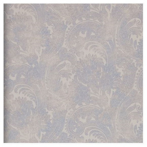 R.M. Pretty Paisley Light Blue 18380