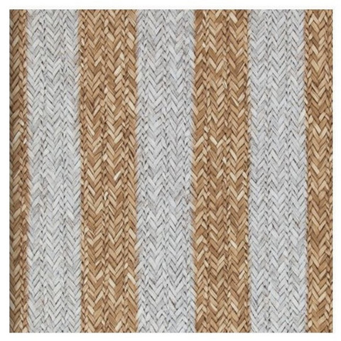 R.M. Rattan Stripe  Natural 18310