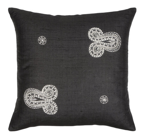 Koru Cushion 42x42 Black
