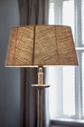 Fabulous Flax Oval Lampshade L
