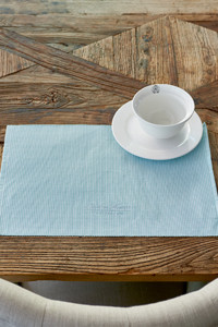 RM Summer Stripe Placemat mint
