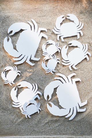 Craft Bay Crab Decoration 9pcs