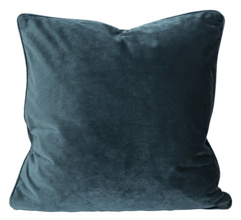 Elise cushion cover Dark petrol 45x45