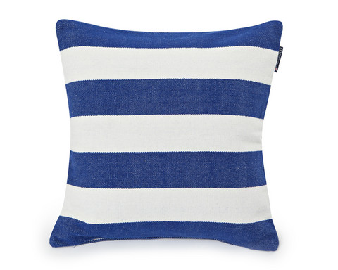 Block Striped Sham Blue