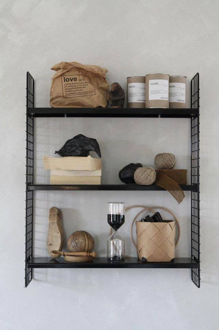 Tuuli shelf Black