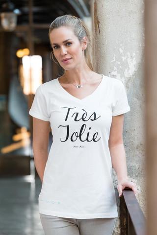 RM T-shirt With Necklace Très Jolie