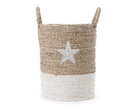 Star Seagrass Basket Small