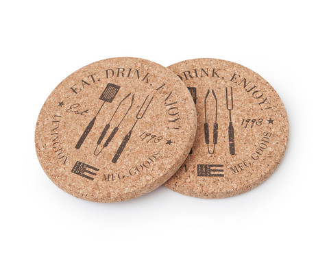 Cork Coaster (set on 2)