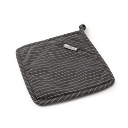 Striped Potholder with Terry