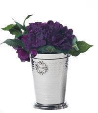 Vase 10x14 chromed