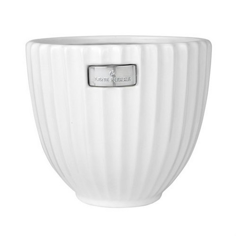 Rosalie flower pot 16cm, white