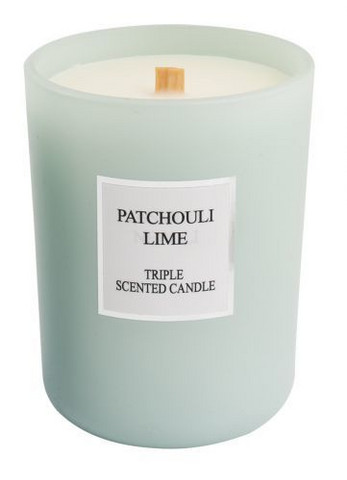 Scented candle Patchouli-Lime