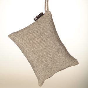 Sauna/travel pillow 25x32 cm Light grey