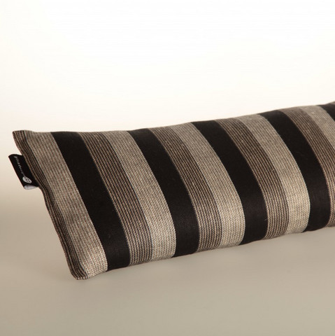 Sauna pillow 25x50 cm Black stripe