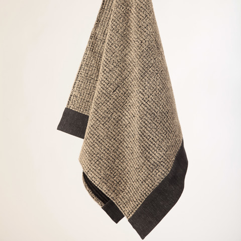 Bath towel 70x140 cm Black