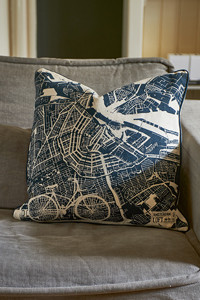 A'dam Loft Map Pillow Cover 50x50