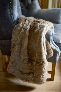 RM Polar Faux Fur Throw 170x130