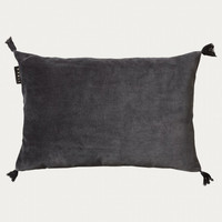 Kelly Cushion cover Dark Charcoal Grey 35x50