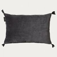 Kelly Cushion cover Dark Charcoal Grey 35x50