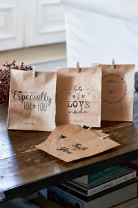 Just For You Paper Bags 6 kpl