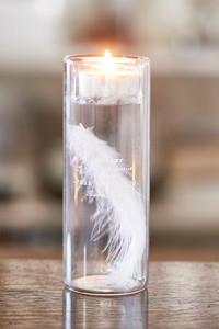 Fabulous Feather Votive
