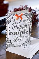 Postcard Happy Couple +envelope