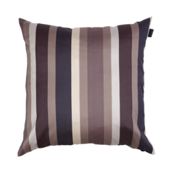 Herald stripe cushion 50x50 Elephant grey