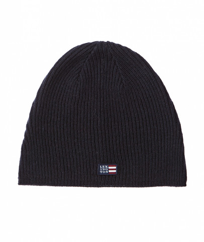 Oak View Beanie Deep Marine Blue