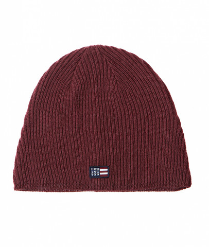Oak View Beanie Chocolate Red