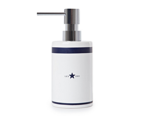 Ceramic Soap Dispenser Blue