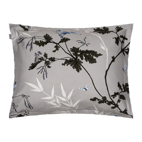 Birdfield Pillow case Grey