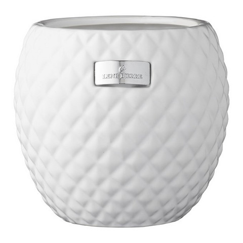 Rosabelle Flower Pot White 15x15
