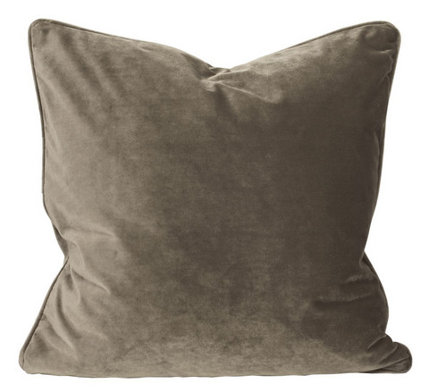 Elise Velvet Cushion Cover Beige 45x45