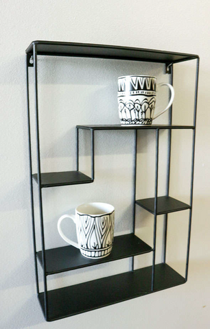 Shelf unit Händy Black
