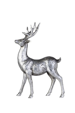Serafina Deer Antique silver 35