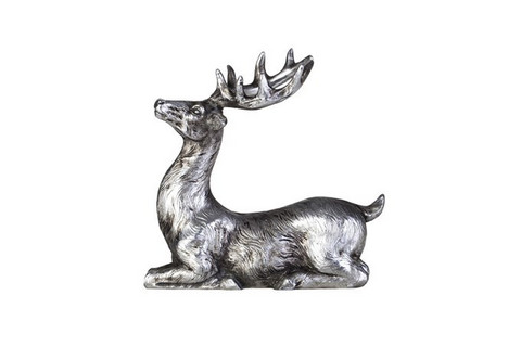 Serafina Deer Antique silver 8