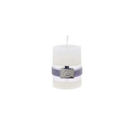 Rustic Candle White S