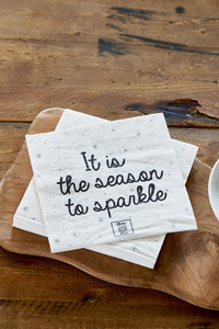 Paper Napkin It Is The Season To...