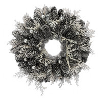Wreath Käpy Frosted 27