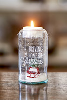 Driving Home For Christmas Tealight