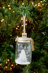 Most Wonderful Time Bottle Ornament