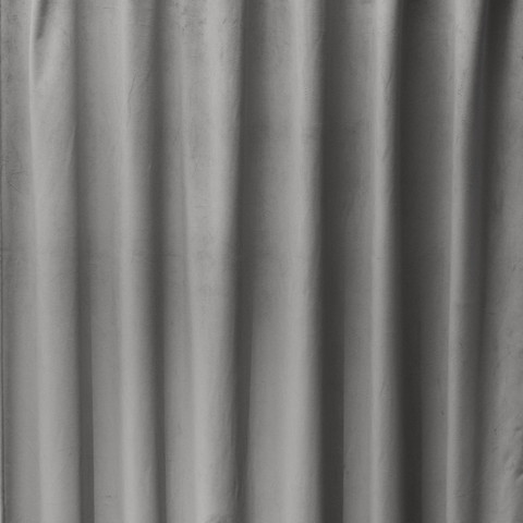 Melanie Curtain 135x260 Light grey