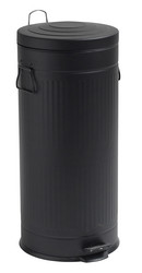 Trash can Black 30L