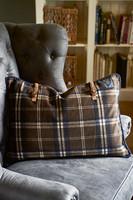 BIU Check Pillow Cover 65x45