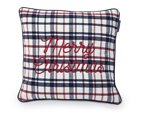 Merry Christmas Sham 50x50 Red-multicolor